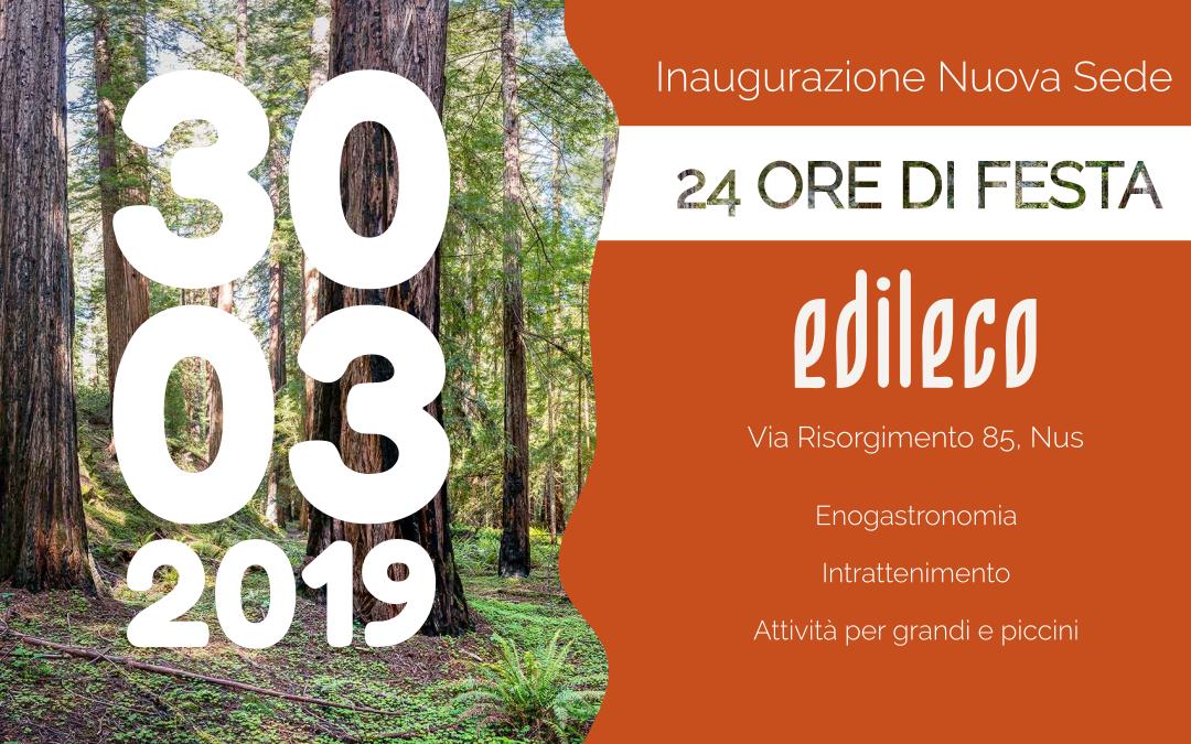 Il 30 marzo 2019 inauguriamo la nostra nuova sede: save the date!