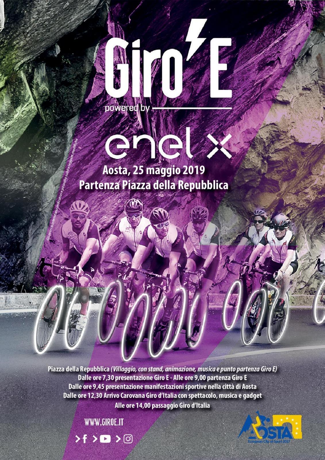 Giro E-Aosta 25 maggio 2019