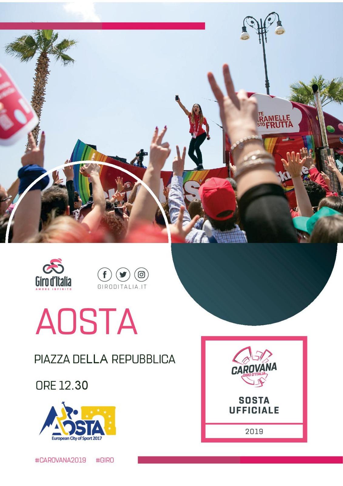 Aosta-Giro d'Italia