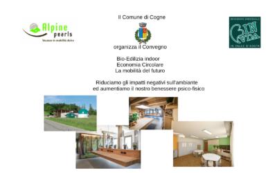 Edileco presente al convegno sulla Bio-Edilizia indoor a Cogne