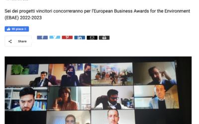 Premio Impresa Ambiente, cinque aziende sul podio