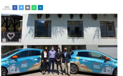 Edileco Mobility Sharing, una ventata d'aria pulita per la mobilità valdostana
