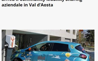 Da GaiaGo, Edileco e Gruppo Sicav 2000 arriva il Community Mobility Sharing aziendale in Val d'Aosta